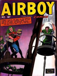 Cover Thumbnail for Airboy Comics (Hillman, 1945 series) #v8#9 [92]
