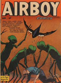 Cover Thumbnail for Airboy Comics (Hillman, 1945 series) #v8#10 [93]