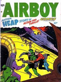 Cover Thumbnail for Airboy Comics (Hillman, 1945 series) #v9#10 [105]