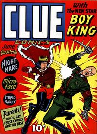 Cover Thumbnail for Clue Comics (Hillman, 1943 series) #v1#4 [4]