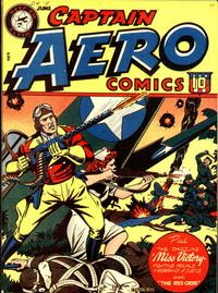 Cover Thumbnail for Captain Aero Comics (Temerson / Helnit / Continental, 1941 series) #v3#13 [15]