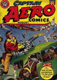 Cover for Captain Aero Comics (1941 series) #v4#2 [16]