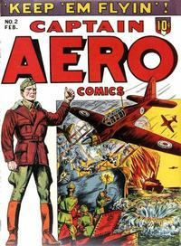Cover Thumbnail for Captain Aero Comics (Holyoke, 1942 series) #v1#8 (2)