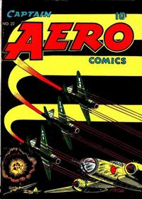 Cover Thumbnail for Captain Aero Comics (Temerson / Helnit / Continental, 1941 series) #22