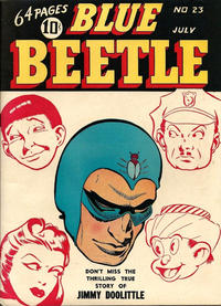 Cover Thumbnail for Blue Beetle (Holyoke, 1942 series) #23