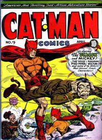 Cover for Cat-Man Comics (Holyoke, 1942 series) #v2#14 (9)