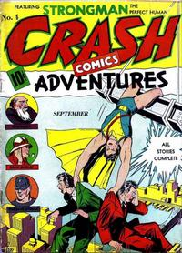 Cover Thumbnail for Crash Comics Adventures (Temerson / Helnit / Continental, 1940 series) #4