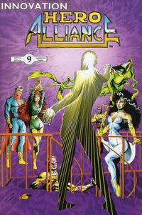 Cover Thumbnail for Hero Alliance (Innovation, 1989 series) #9