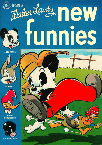 Cover for Walter Lantz New Funnies (Dell, 1946 series) #118