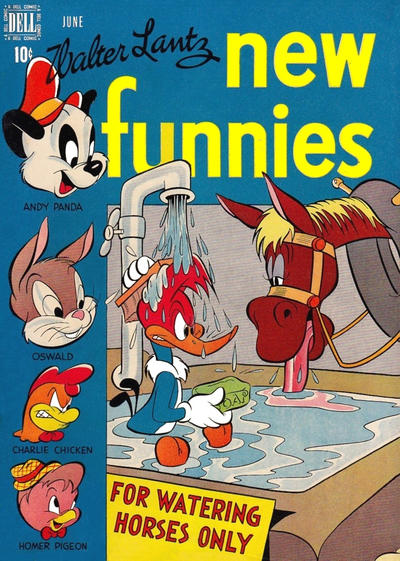 Cover for Walter Lantz New Funnies (1946 series) #136