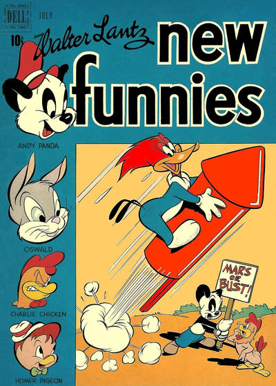 Cover for Walter Lantz New Funnies (Dell, 1946 series) #149