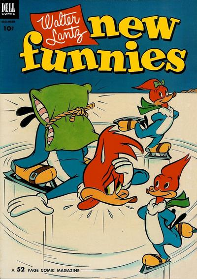 Cover for Walter Lantz New Funnies (1946 series) #190