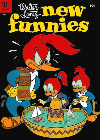 Cover for Walter Lantz New Funnies (Dell, 1946 series) #219