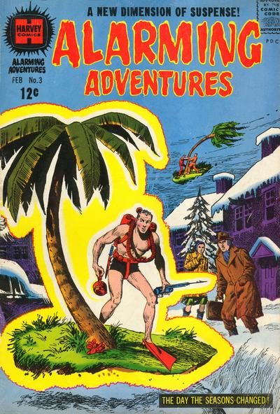 Cover for Alarming Adventures (Harvey, 1962 series) #3
