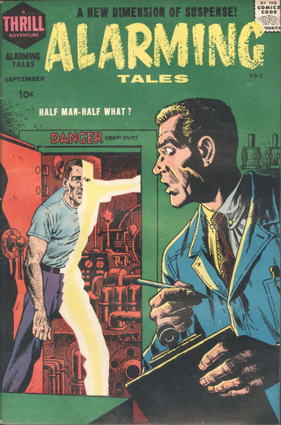 Cover for Alarming Tales (Harvey, 1957 series) #5