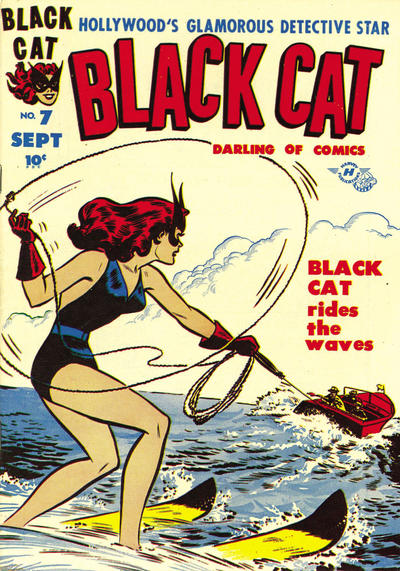 Cover for Black Cat (Harvey, 1946 series) #7