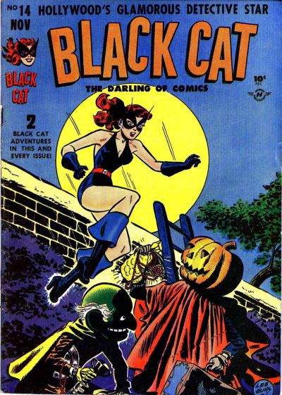 Cover for Black Cat (Harvey, 1946 series) #14
