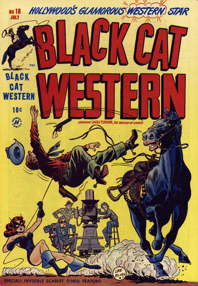 Cover for Black Cat (Harvey, 1946 series) #18
