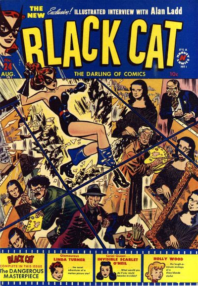 Cover for Black Cat (Harvey, 1946 series) #24