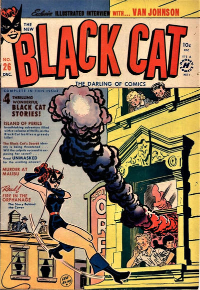 Cover for Black Cat (Harvey, 1946 series) #26