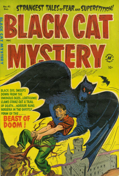 Cover for Black Cat (1946 series) #41