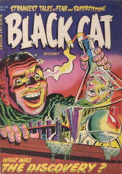 Cover for Black Cat (1946 series) #46