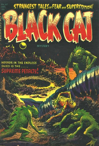 Cover for Black Cat (Harvey, 1946 series) #47