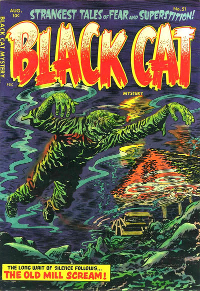 Cover for Black Cat (Harvey, 1946 series) #51