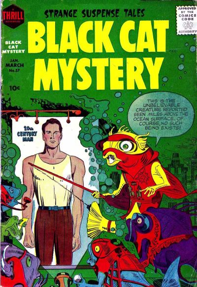 Cover for Black Cat (1946 series) #57
