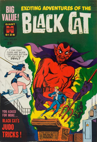 Cover for Black Cat (1946 series) #64