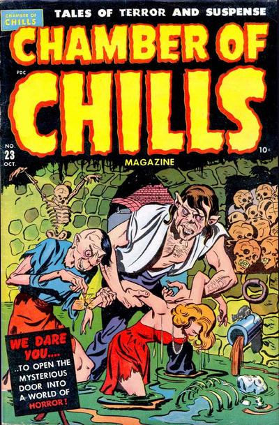 Cover for Chamber of Chills Magazine (Harvey, 1951 series) #23 [3]