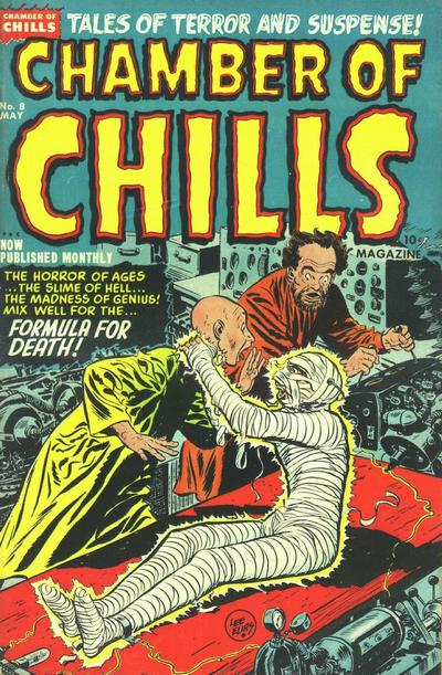 Cover for Chamber of Chills Magazine (1951 series) #8