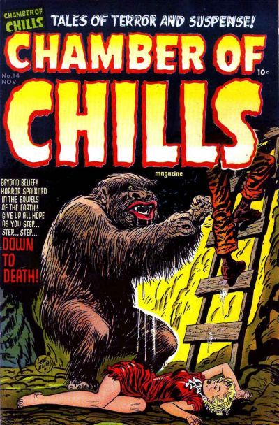 Cover for Chamber of Chills Magazine (1951 series) #14