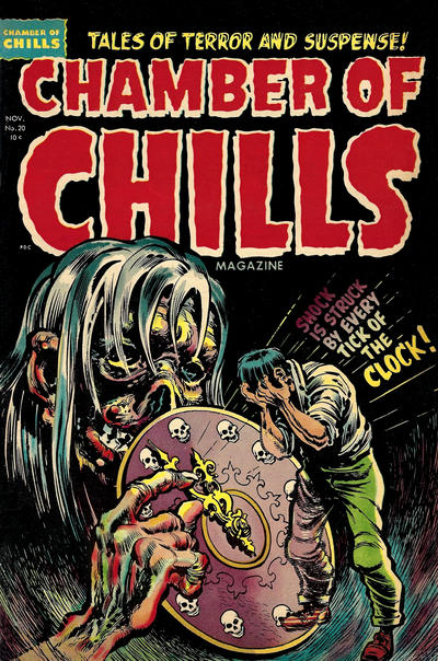 Cover for Chamber of Chills Magazine (Harvey, 1951 series) #20