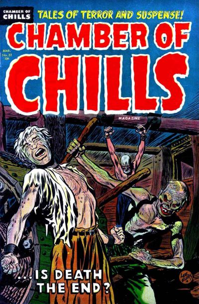 Cover for Chamber of Chills Magazine (1951 series) #22