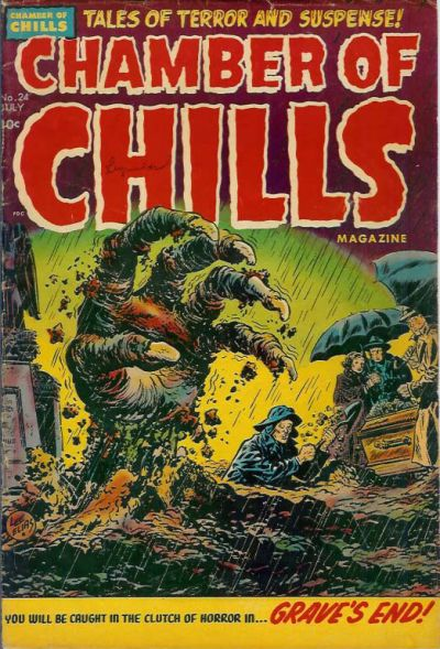 Cover for Chamber of Chills Magazine (Harvey, 1951 series) #24