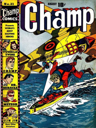 Cover for Champ Comics (1940 series) #21