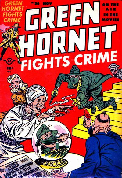 Cover for Green Hornet Fights Crime (Harvey, 1947 series) #36