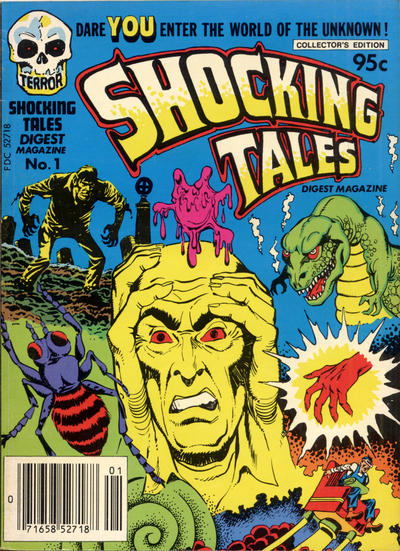 Cover for Shocking Tales Digest (1981 series) #1
