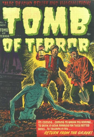 Cover for Tomb of Terror (Harvey, 1952 series) #6