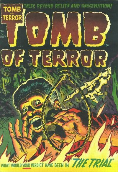Cover for Tomb of Terror (Harvey, 1952 series) #10