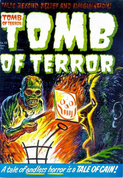 Cover for Tomb of Terror (Harvey, 1952 series) #12