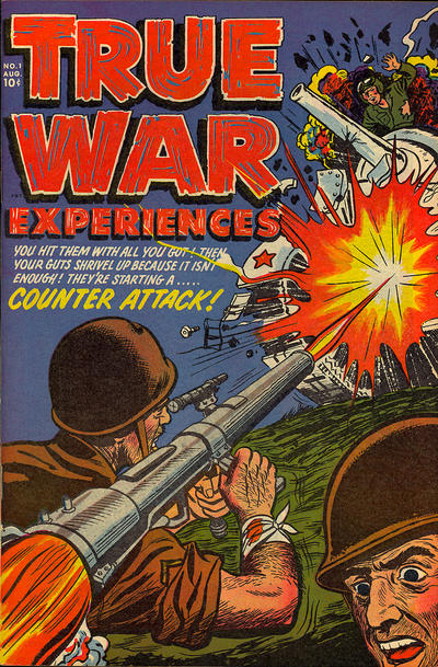 Cover for True War Experiences (Harvey, 1952 series) #1