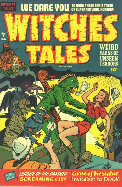 Cover for Witches Tales (Harvey, 1951 series) #7