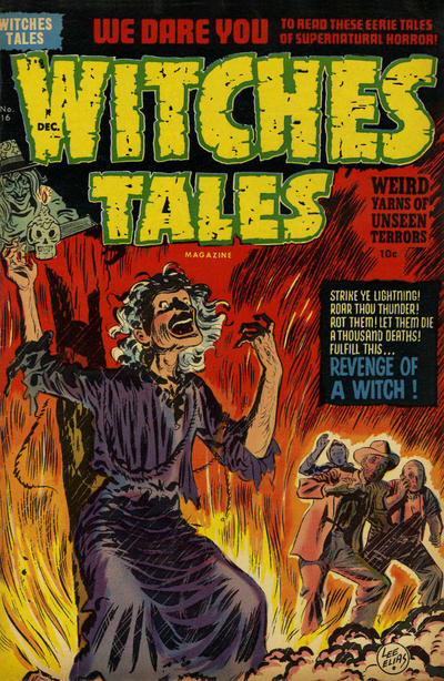 Cover for Witches Tales (Harvey, 1951 series) #16