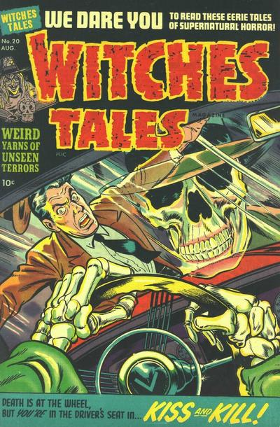 Cover for Witches Tales (1951 series) #20
