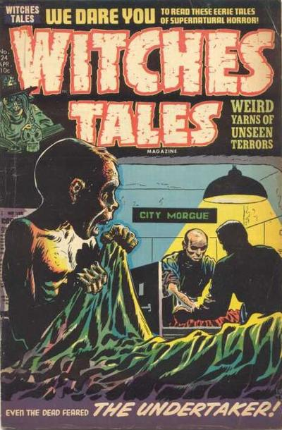 Cover for Witches Tales (Harvey, 1951 series) #24