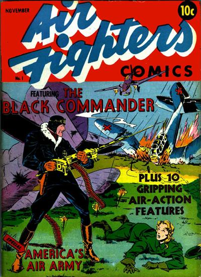 Cover for Air Fighters Comics (Hillman, 1941 series) #1