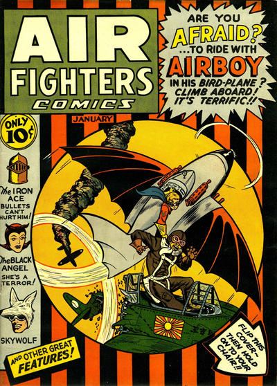 Cover for Air Fighters Comics (Hillman, 1941 series) #v1#4 [4]