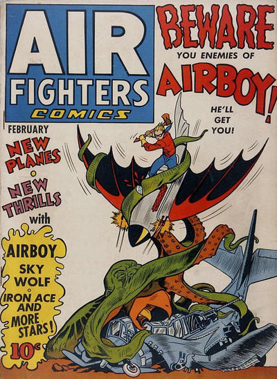 Cover for Air Fighters Comics (Hillman, 1941 series) #v1#5 [5]